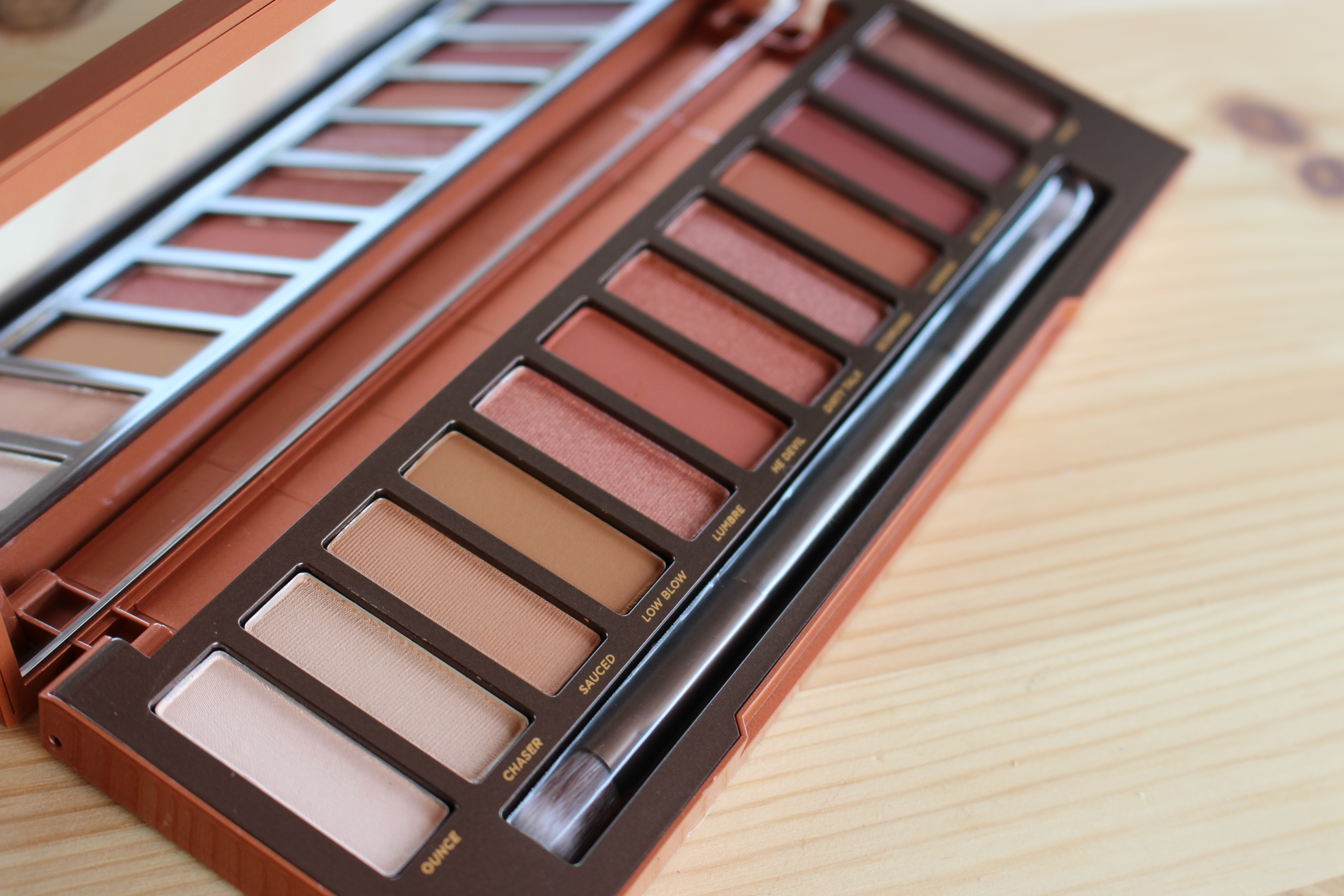 Urban decay naked petite heat palette review tutorial